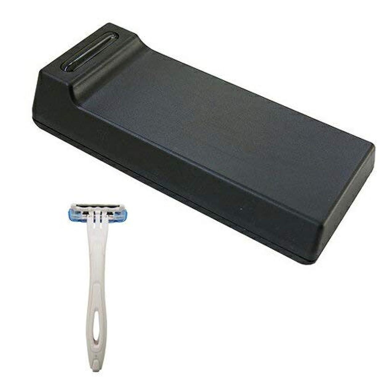 チューリップ大統領サーキットに行くCannelle カミソリ刃クリーナー BladeTech ブレードテック + 貝印 使い捨てカミソリ3枚刃