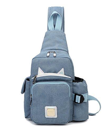 HYANG ボディバッグ ショルダーバッグ バッグ カバン 鞄 斜め掛け キャンバス 帆布 小型 カ...