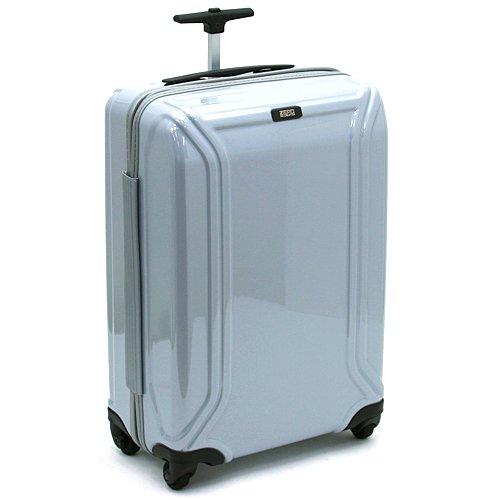 ZERO HALLIBURTON ゼロハリバートン ZX220 80131 ZERO AIR ゼロエアー スーツケース 4輪ホイール 20インチ キャリーケース 並行輸入品 (シルバー)