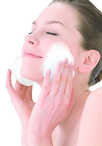 『小久保工業所 洗顔用 泡立てネット ホイップ洗顔 洗顔ネット (洗顔・壁掛け用リング付き) クリーミーな泡立ち』の5枚目の画像