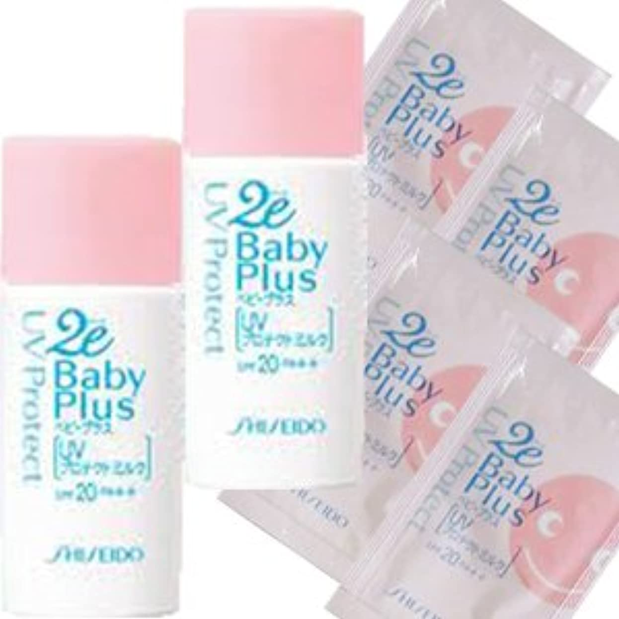 弱い責任者楽な2E(ドゥーエ) ベビープラス BABY PLUS UVプロテクトミルク 30MLx2(SPF20?PA++)2個セット(4901872235490)
