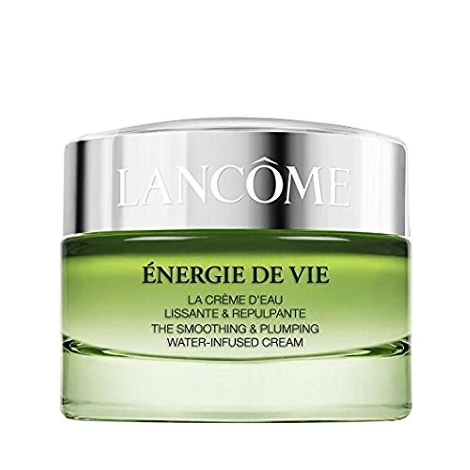 騒黒くする拮抗ランコム Energie De Vie The Smoothing & Plumping Water-Infused Cream 50ml/1.7oz並行輸入品