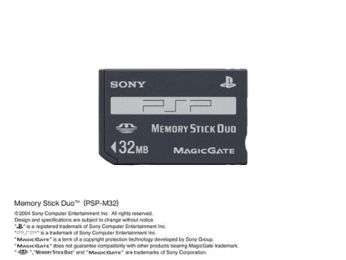 メモリースティック デュオ(PSP-M32) 最大32MB...