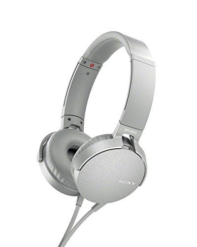 ソニー MDR-XB550AP-W ステレオヘッドホン  MDRXB550APW