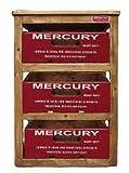マーキュリー 収納ボックス リサイクルウッド 引き出し式 3段ラック レッド アメリカ雑貨 MERW3RRD