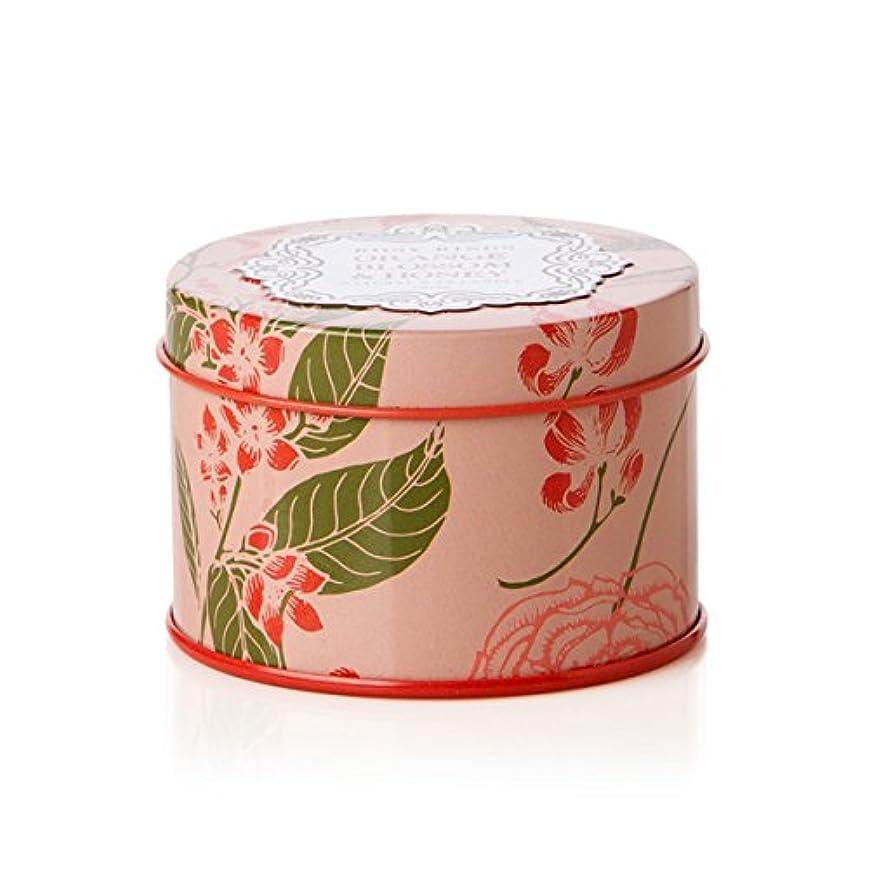 アブセイ有効な精神的にロージーリングス プティティンキャンドル オレンジブロッサム&ハニー ROSY RINGS Petite Tin Orange Blossom & Honey