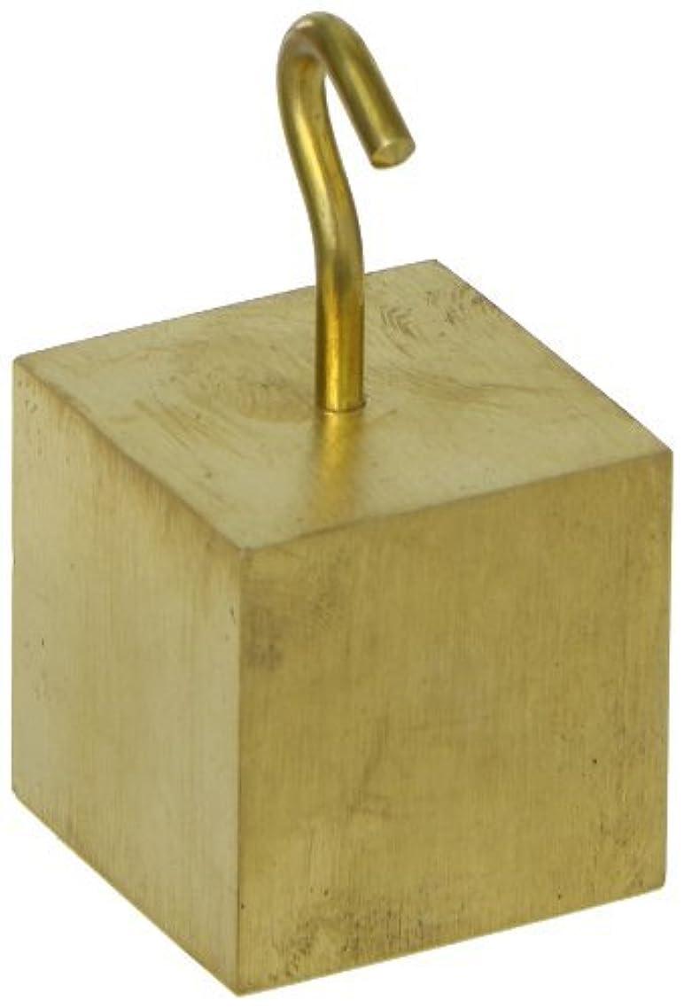 フェリーオフセット動機付けるAjax Scientific Brass Hooked Cube 32mm [並行輸入品]