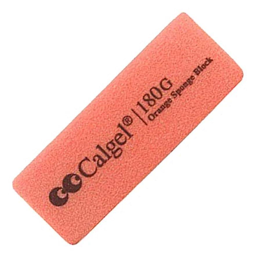 植物学者リズム時折Calgel オレンジスポンジ ブロック 180