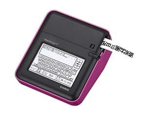 カシオ メモプリ 手書き入力対応 MEP-T10-PK ピンク