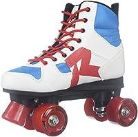 RocesユニセックスディスコPalace Fitness Quad Skatesローラースケートレッド/ホワイト/ミント550039 マルチカラー