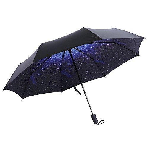 HaAimNay 折りたたみ傘 花柄 日傘 晴雨兼用 遮光 ...