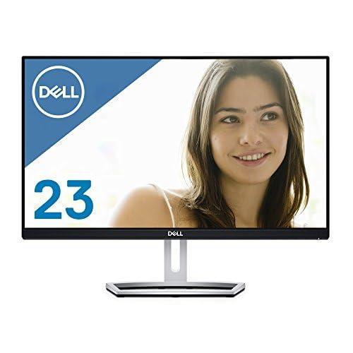 Dell ディスプレイ モニター S2318H 23インチ/フルHD/IPS光沢/6ms/VGA,HDMI/スピーカ内蔵/フレームレス/3年間保証