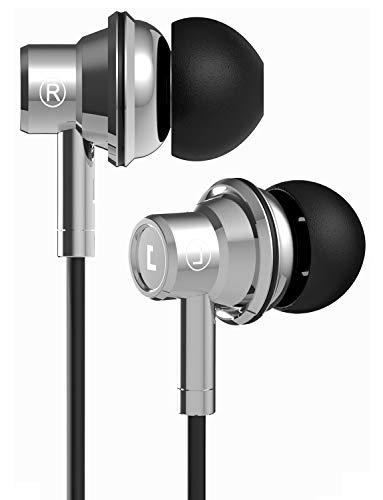 Jayfi JEB-101 カナル型 イヤホン 高音質 重低音 ステレオイヤフォン 遮音性 リモコン マイク付き 手作り高級 イヤフォン スマートフォンに対応