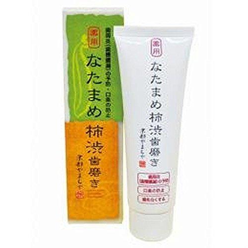 【2個セット】 京都やまちや 薬用 なたまめ柿渋歯磨き 120g