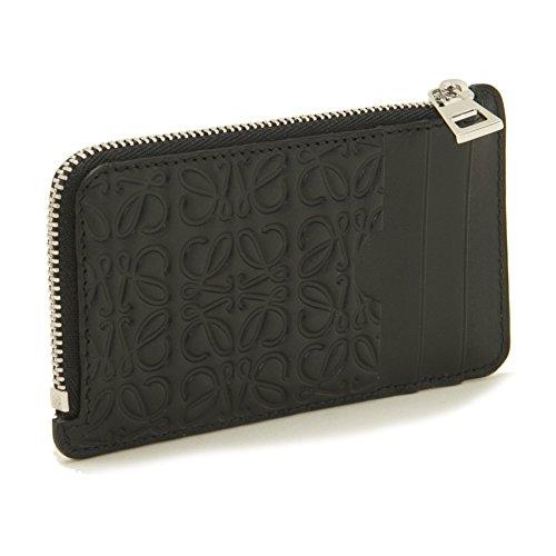 (ロエベ) LOEWE 財布 レディース COIN CARDHOLDER コイン カードホルダー 107.55.K07 1100 BLACK [並行輸入品]