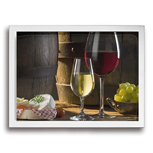 お酒 ワイン アートポスター アートパイル アート壁掛け 壁アート ポスター インテリア装飾品 絵画 インテリア 風景画 現代壁の絵 引き越し White