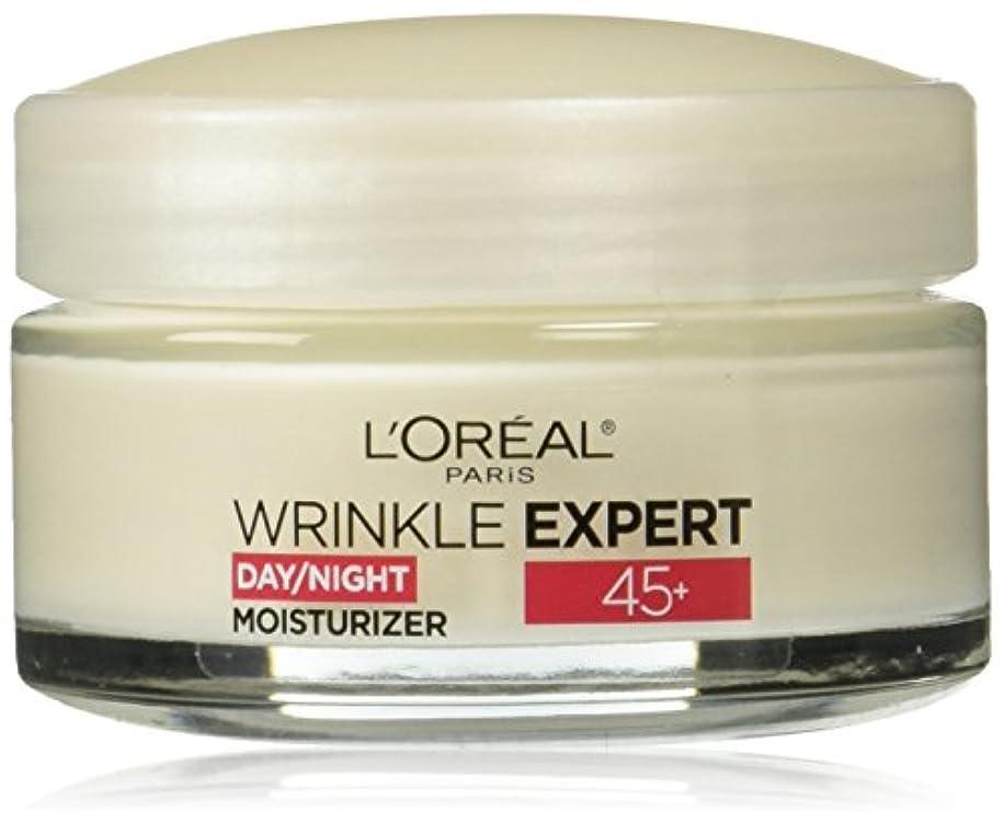 世代ブルジョンライセンスLOREAL Paris Wrinkle Expert 45+ Day/Night Moisturizer - 1.7 oz(48g) ロレアル リンクルエキスパート45+