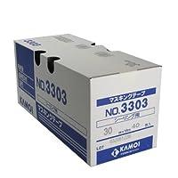 カモ井 シーリング用紙粘着テープ 30ミリ×18M 40巻入