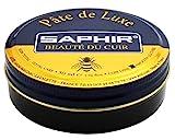 [サフィール] SAPHIR ビーズワックスポリッシュ 50ml 靴磨き 保湿 補色 ツヤ出し 9550002 (ダークブラウン)[HTRC4.1]