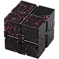 可展開の3階キューブ パズル 孔明パズル 中国伝統ゲーム 知恵おもちゃ (ブラウン)