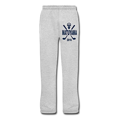 NIKONIKO ロングパンツ ゴルフ 選手権 アメリカ Pants 無地 メンズ スポーツ Ash