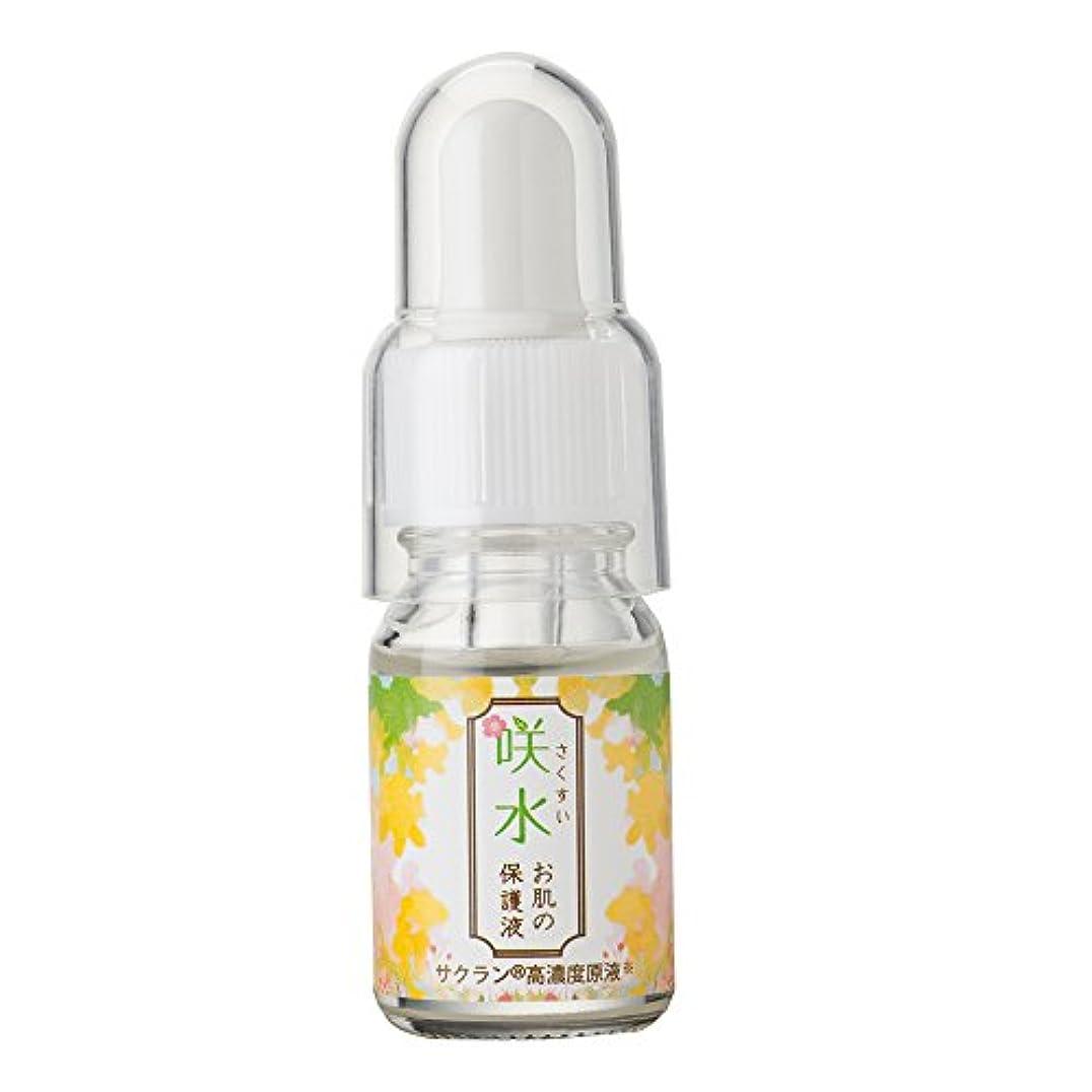 区別すり減る宿咲水お肌の保護液 10ml  保湿 美容液 顔 スイセンジノリ サクラン リバテープ製薬公式