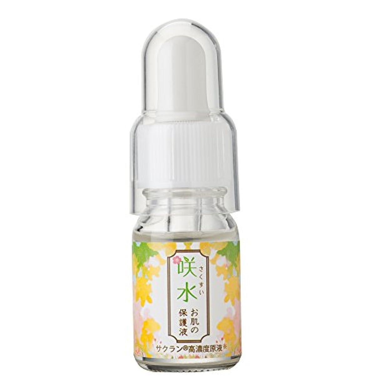 流す注入模索咲水お肌の保護液 10ml  保湿 美容液 顔 スイセンジノリ サクラン リバテープ製薬公式