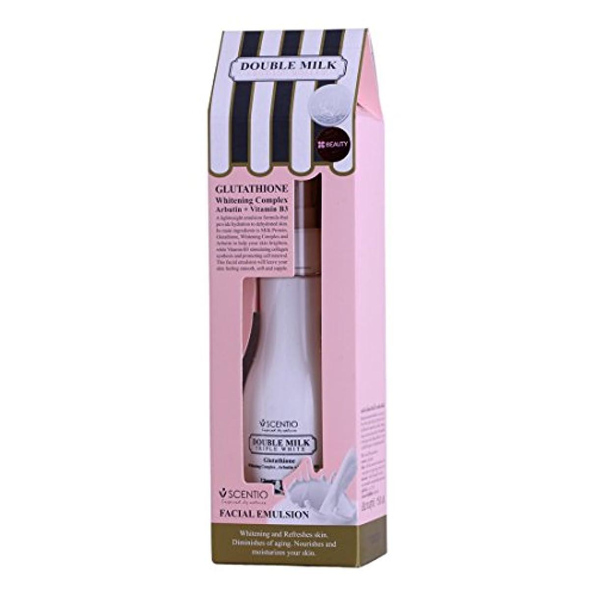 用心クラブ訴えるDouble Milk Triple White Facial Emulsion 150ML
