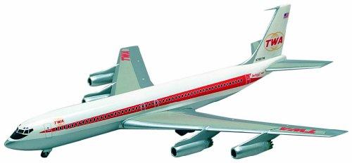 ミニクラフト 14651 1/144 ボーイング707-331 TWA