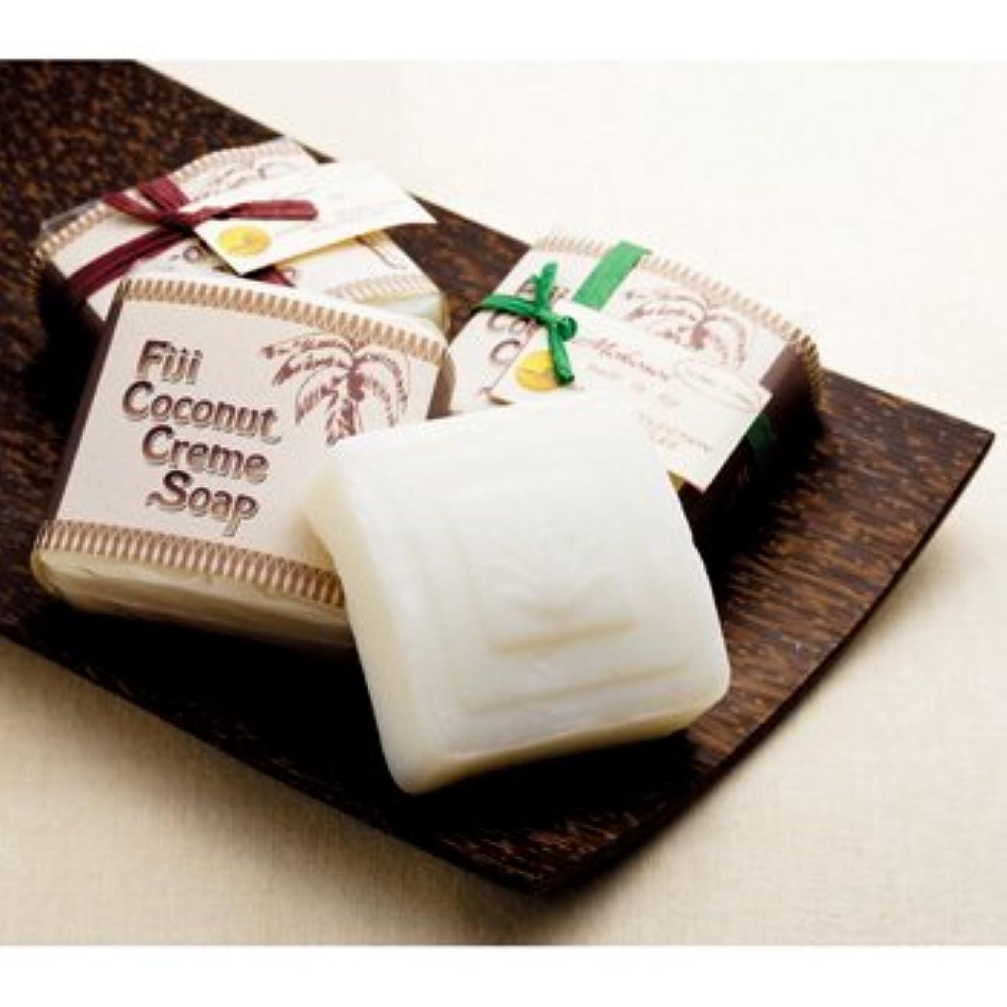 周囲実業家促進するフィジーお土産 フィジー モコソイココナッツ石けん 4個セット