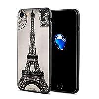 エッフェル塔 男女兼用 3Dスマートフォンケース 便利 スクリーンを保護する 粉砕防止のポリカーボネート製パターン 人気NO.1 いスマートフォンケース 4.7インチ Iphone Apple 7/8