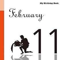 2月11日 My Birthday Book