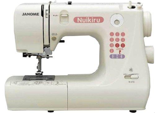 ジャノメ ヌイキル内蔵型電子制御ミシンN-515