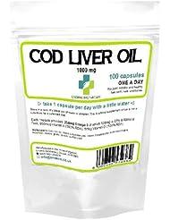 高強度肝油1000ミリグラム 100カプセル