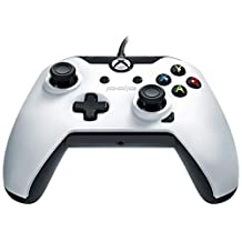 PDP Wired Controller for Xbox One, Xbox One X and Xbox One S, Arctic White