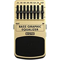 BEHRINGER BEQ700 BASS GRAPHIC EQUALIZER ベース用 エフェクター