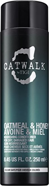 人工的な応答ファシズムティジー Catwalk Oatmeal & Honey Nourishing Conditioner (For Dry, Damaged Hair) 250ml [海外直送品]