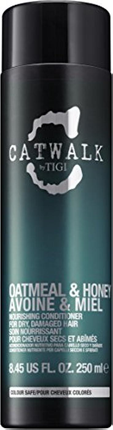 脱獄コーヒー歪めるティジー Catwalk Oatmeal & Honey Nourishing Conditioner (For Dry, Damaged Hair) 250ml [海外直送品]