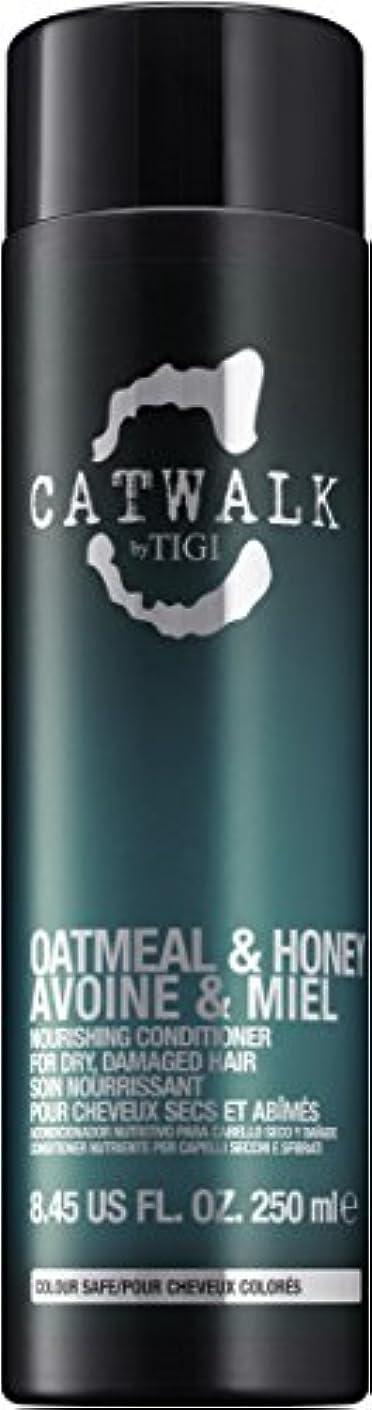 取り扱い不機嫌そうなネクタイティジー Catwalk Oatmeal & Honey Nourishing Conditioner (For Dry, Damaged Hair) 250ml [海外直送品]