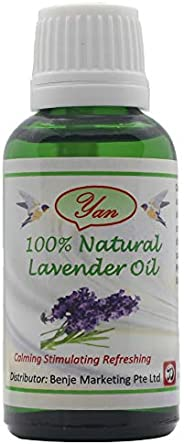 yan 100% Pure and Natural Lavender Oil