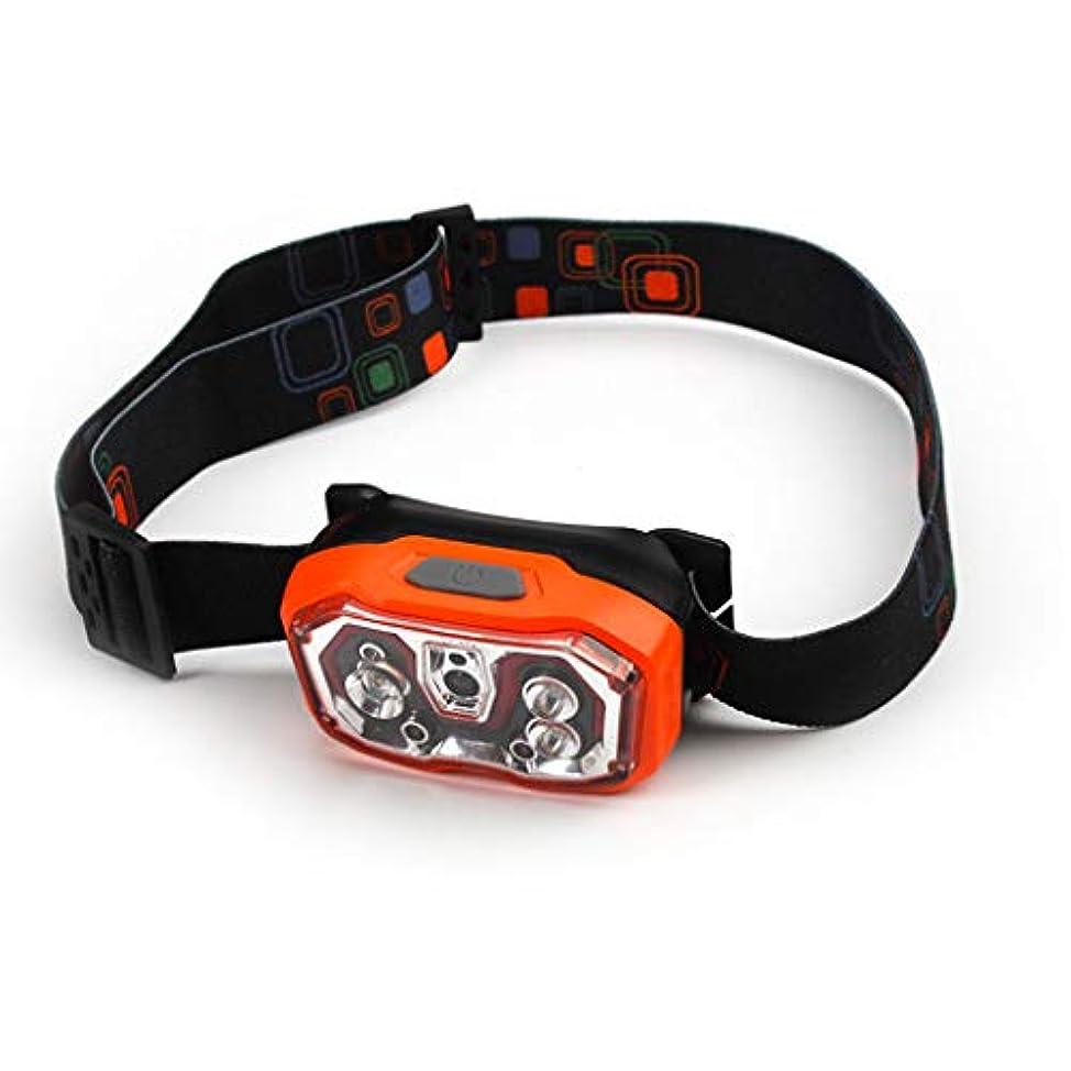 ネコ基礎肥満USB充電式センサーヘッドライトグレア屋外防水軽量ランニングスポーツ釣り小型ヘッドマウント防水ヘッドライト