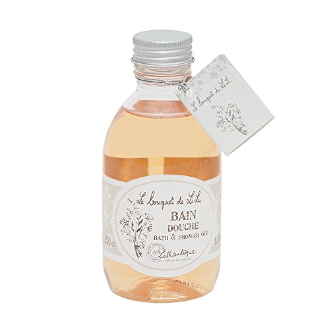 パーク鼻振り返るLothantique(ロタンティック) Le bouquet de LiLi(ブーケドゥリリシリーズ) ボディウォッシュ 200ml 3420070029034