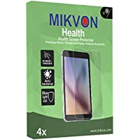 4x Mikvon Health Casio Exilim EX-Z750 雑菌防止加工・ブルーライトカットの画面保護フィルム アクセサリー付きのリテールパッケージ