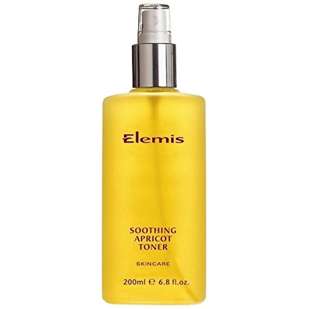 地中海理論ジャンプするエレミスはなだめるようなアプリコットトナーをスキンケア (Elemis) (x2) - Elemis Skincare Soothing Apricot Toner (Pack of 2) [並行輸入品]