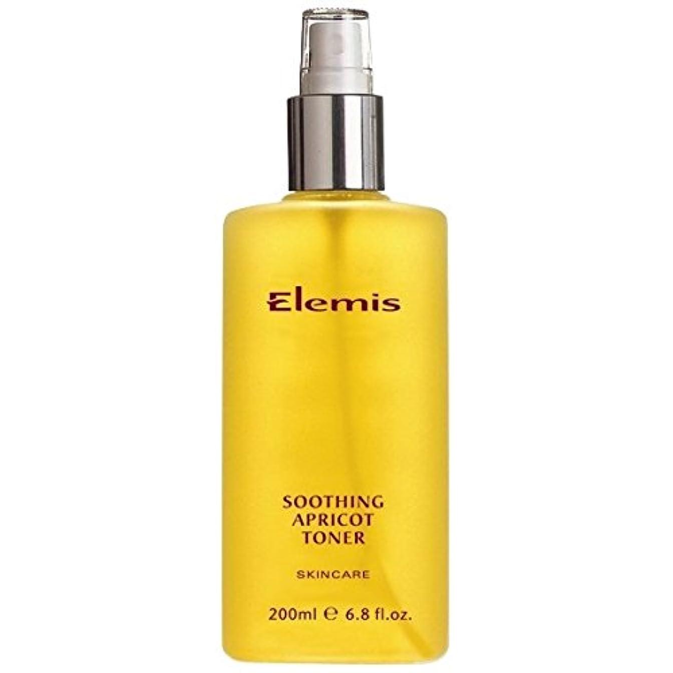 ヒョウ絶滅した驚かすエレミスはなだめるようなアプリコットトナーをスキンケア (Elemis) (x2) - Elemis Skincare Soothing Apricot Toner (Pack of 2) [並行輸入品]