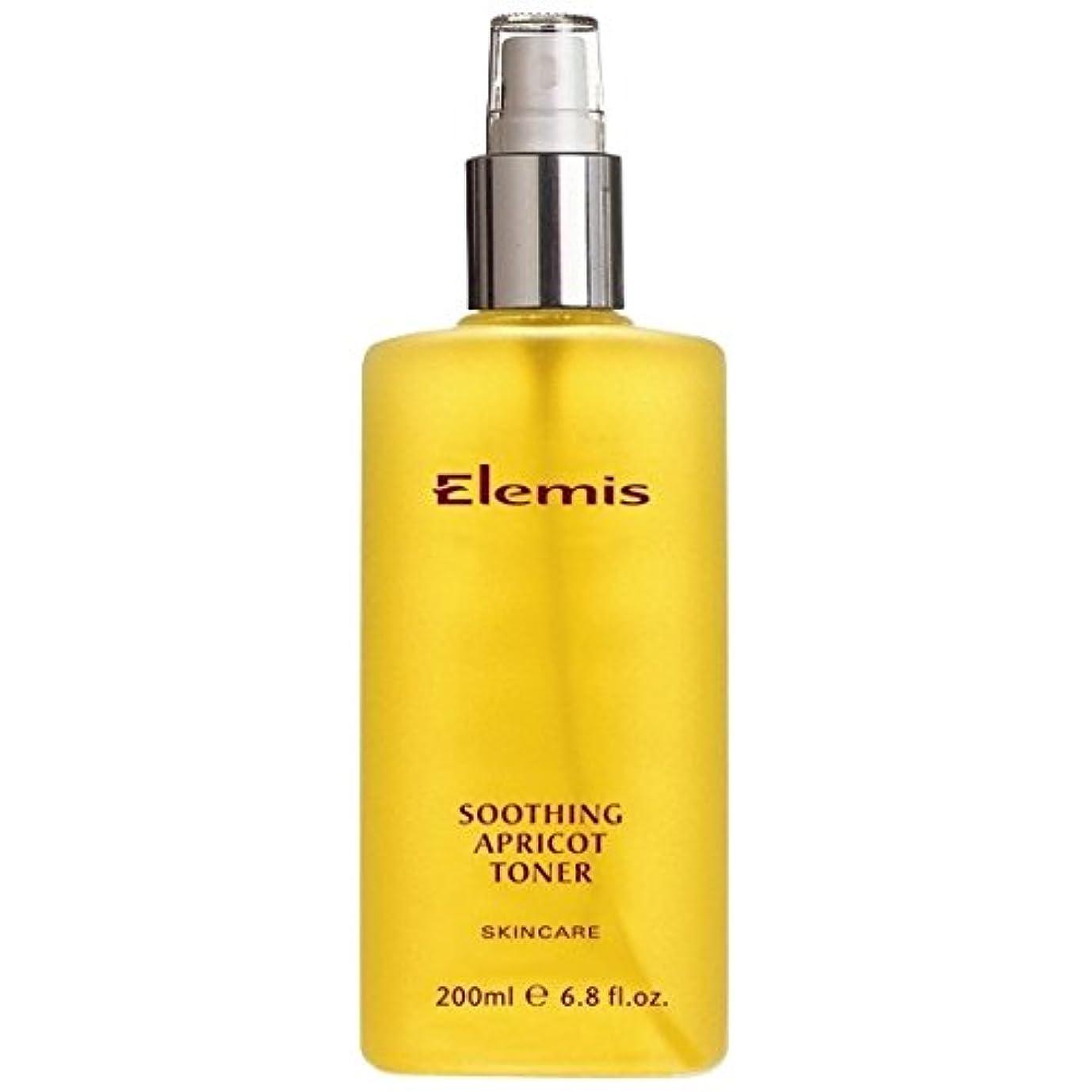 ロゴ比類なき混乱したエレミスはなだめるようなアプリコットトナーをスキンケア (Elemis) (x2) - Elemis Skincare Soothing Apricot Toner (Pack of 2) [並行輸入品]