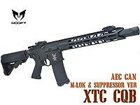 MODIFY エクストリーム XTC-CQB M-LOK&サプレッサーVer BK