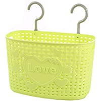 25 CMラブ多目的プラスチック貯蔵バスケット家庭用オーガナイザー、グリーン