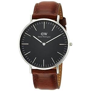 [ダニエル・ウェリントン]DanielWellington 腕時計 Classic Black St.Mawes ブラック文字盤 DW00100130 メンズ 【並行輸入品】