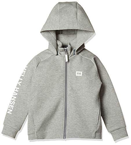 [ヘリーハンセン] K L/S Danball Full-Zip Hoodie HJ31862 キッズ ミックスグレー 日本 140 (日本サイズ140 相当)